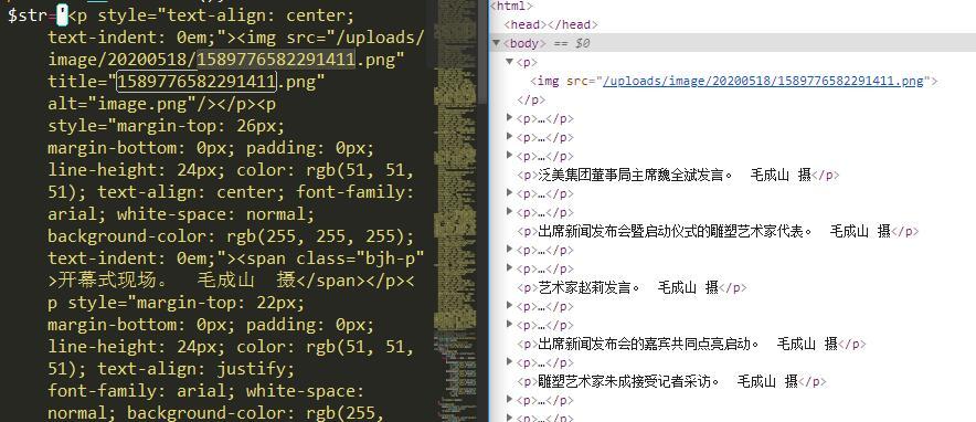 php正则清除src属性外的所有html标签属性演示效果